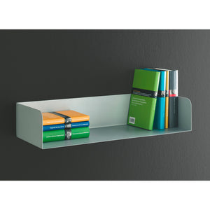 "Dolle SHOWCASE Floating Metal Shelf 31.5"" - White"