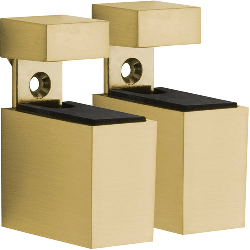 CUADRO Metal Shelf Bracket Set - Gold - NEW