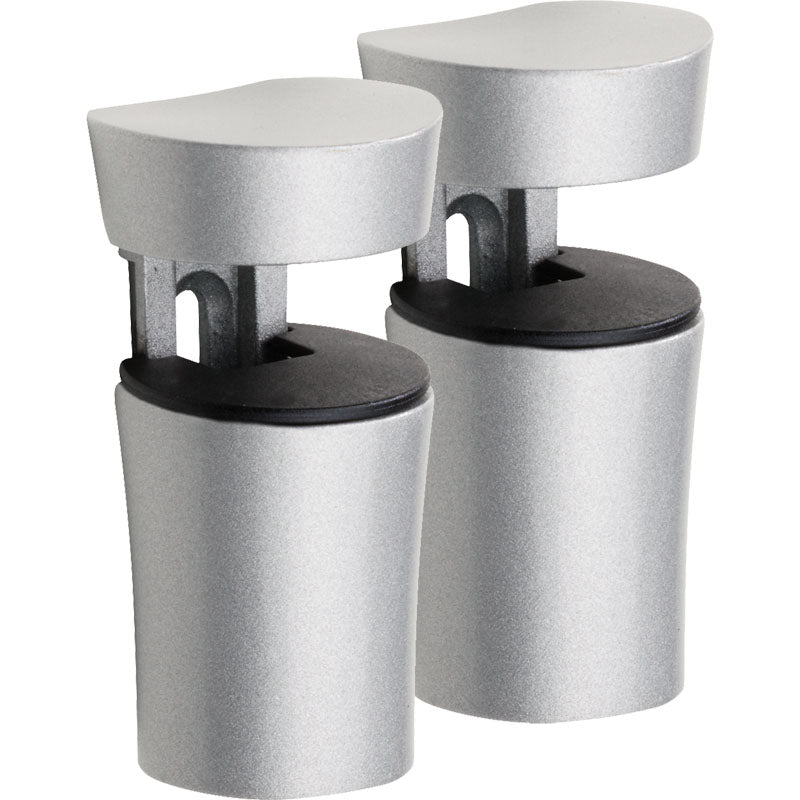 BIN Metal Shelf Bracket Set - Silver