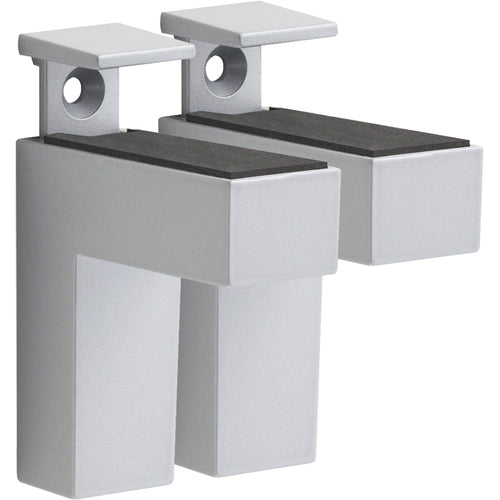 Dolle ELIOT Metal Shelf Bracket Set - Silver