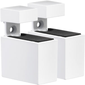 CUADRO Metal Shelf Bracket Set - White