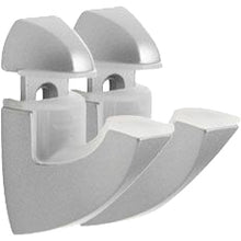 Load image into Gallery viewer, Dolle SCOOP Metal Shelf Bracket Set - Silver