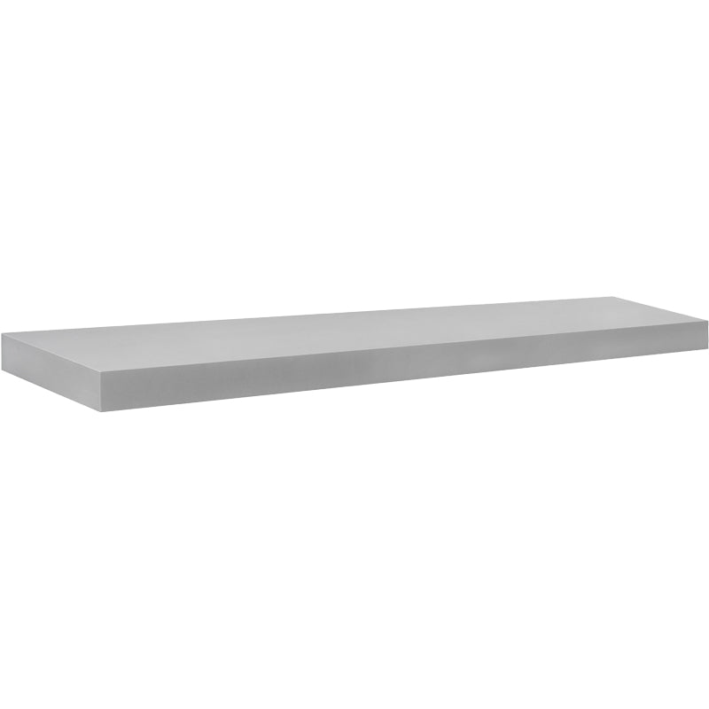 BIG BOY Floating Shelf - Silver - 45.25