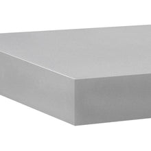 "Load image into Gallery viewer, BIG BOY Floating Shelf - Silver - 45.25"" x 9.75"""