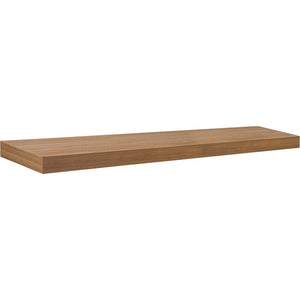 "BIG BOY Floating Shelf - Wood - 45.25"" x 9.75"""