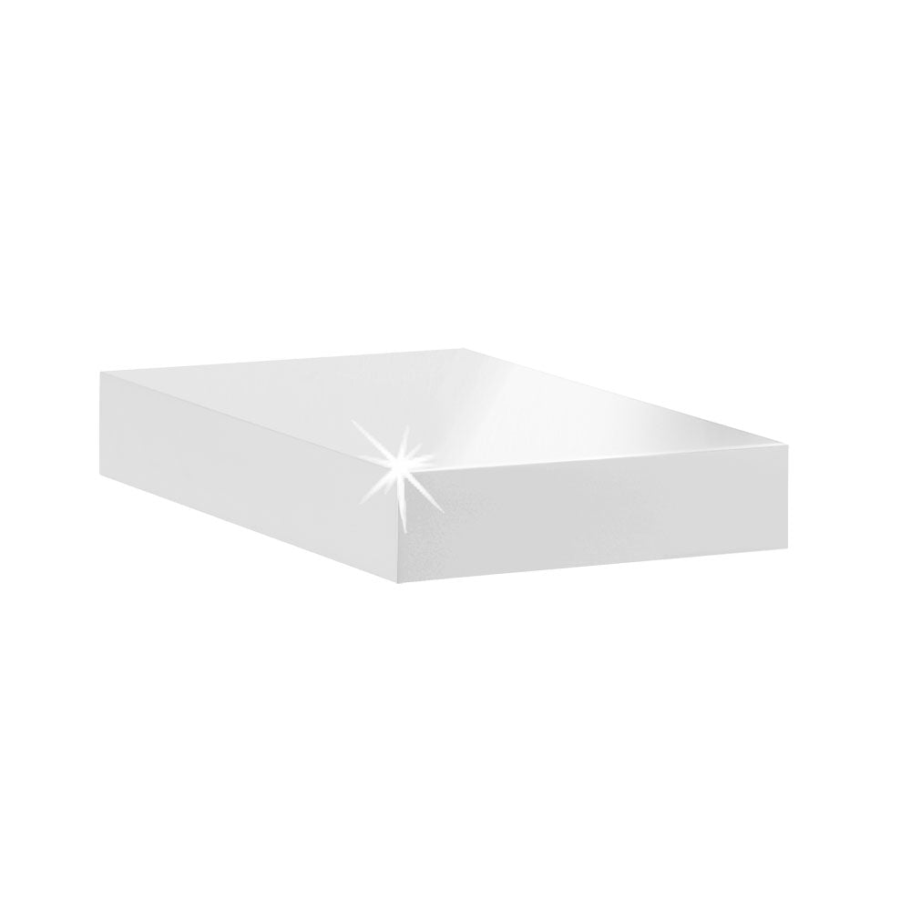 Dolle BIG BOY Floating Shelf - White High Gloss - 9.75