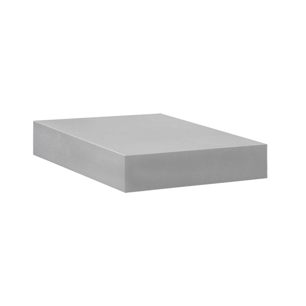 BIG BOY Floating Shelf - Silver - 9.75