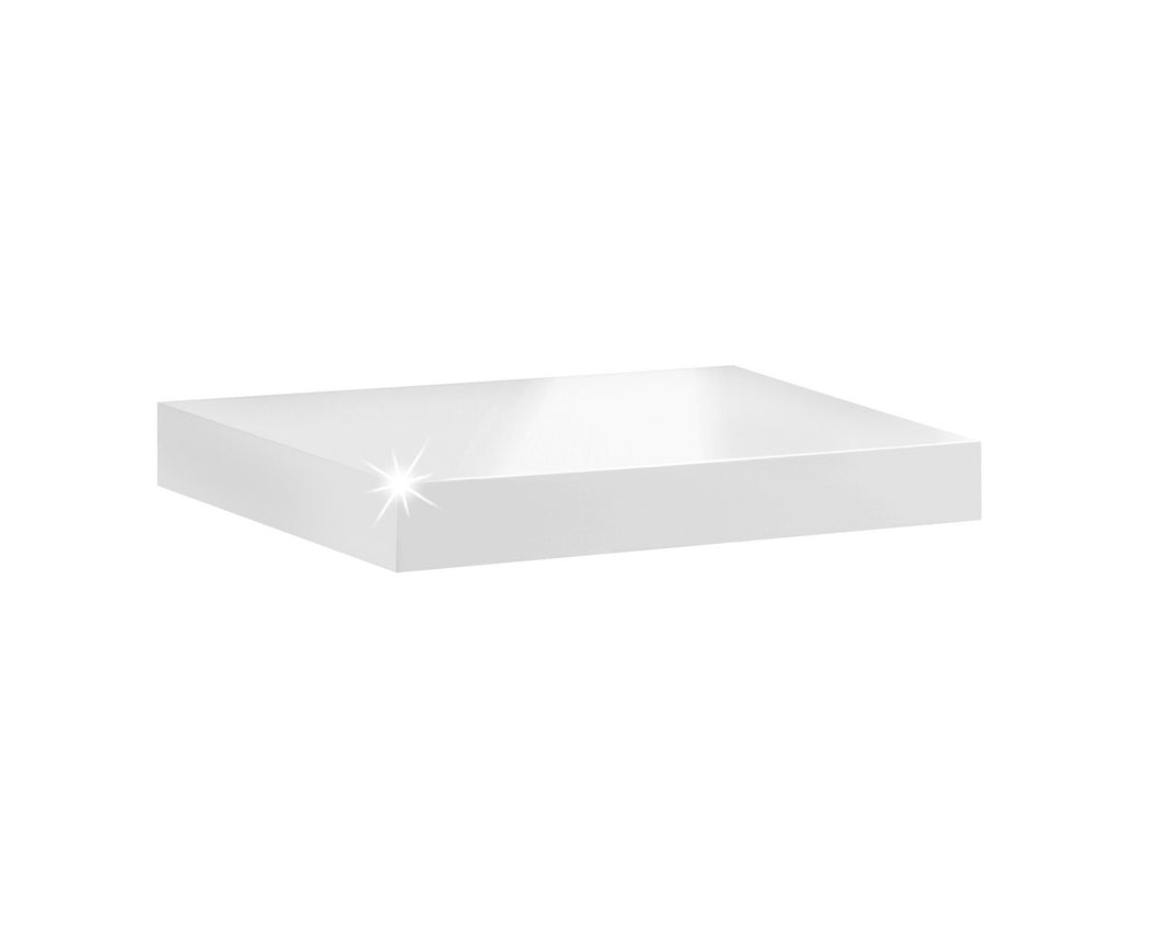 Dolle BIG BOY Floating Shelf - White High Gloss - 17.5