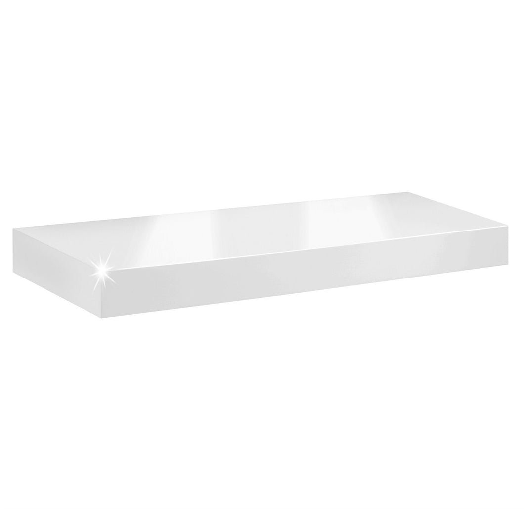 Dolle BIG BOY Floating Shelf - White High Gloss - 35.5