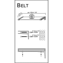 Load image into Gallery viewer, Dolle BELT Metal Shelf Bracket - Stainless
