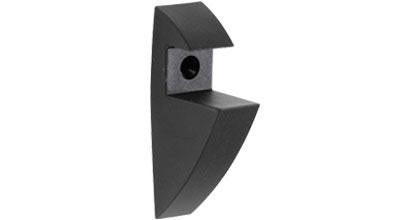 SUMO CLIP MAXI Plastic Shelf Bracket - Anthracite (Black)