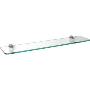 "Dolle GLASSLINE Standard Clear Glass Shelf - 32"" x 6"" x 5/16"""