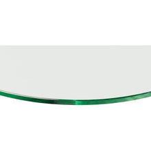 Load image into Gallery viewer, GLASSLINE Convex Clear Glass Shelf - 23 5/8""