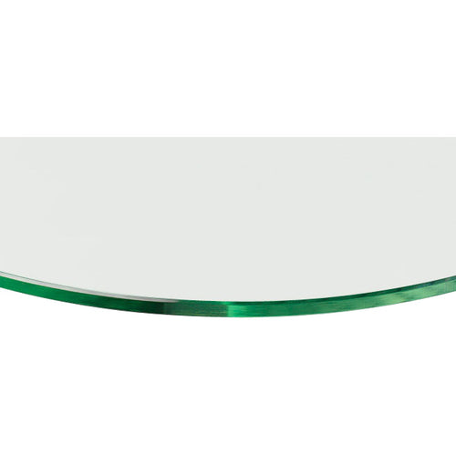 GLASSLINE Convex Clear Glass Shelf - 23 5/8