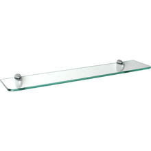 "Load image into Gallery viewer, Dolle GLASSLINE Standard Clear Glass Shelf - 15.75"" x 4.75"""