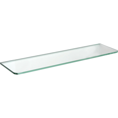 GLASSLINE Standard Clear Glass Shelf - 23.5