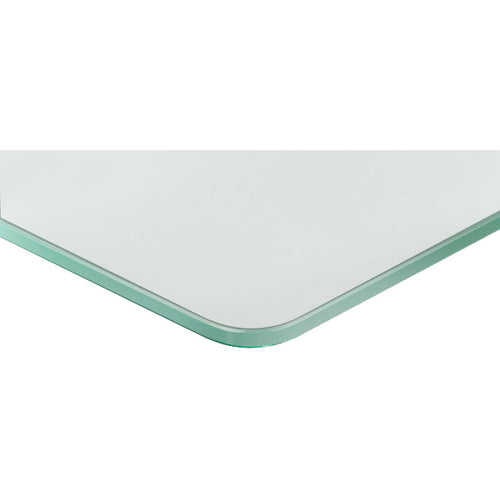 GLASSLINE Standard Frosted Glass Shelf - 15.75