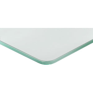GLASSLINE Standard Frosted Glass Shelf - 15.75""