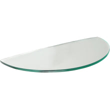 Load image into Gallery viewer, Dolle GLASSART Melon Clear Glass Shelf - 16""