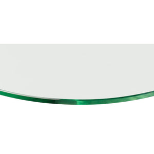 GLASSART Pear Clear Glass Shelf - 24""