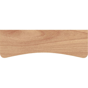 BEECHCRAFT Concave Wood Shelf - Beech - 24""