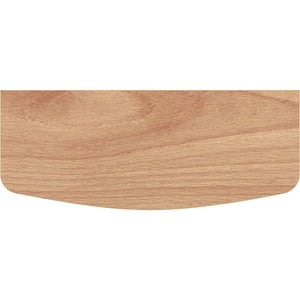 BEECHCRAFT Convex Wood Shelf - Beech - 24""