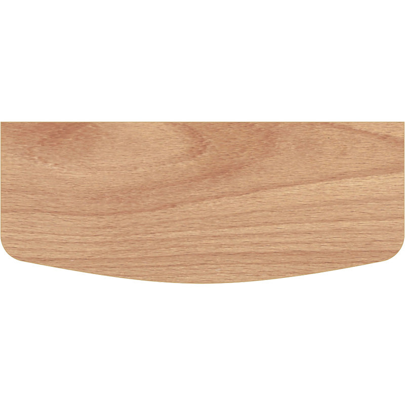 BEECHCRAFT Convex Wood Shelf - Beech - 24