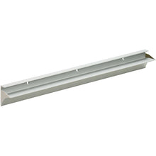 "Load image into Gallery viewer, RAIL 3/4"" Metal Shelf Bracket - Silver - 24"""