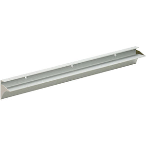 "RAIL 3/4"" Metal Shelf Bracket - Silver - 24"""