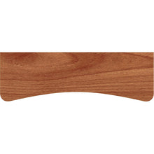 Load image into Gallery viewer, BEECHCRAFT Concave Wood Shelf - Walnut - 24""