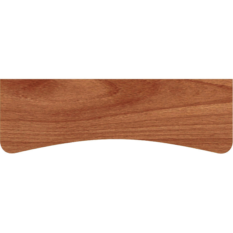 BEECHCRAFT Concave Wood Shelf - Walnut - 24