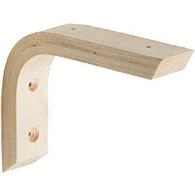 THOR Wooden Shelf Bracket - 6.5