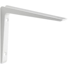 "Load image into Gallery viewer, PURIST Metal Shelf Bracket - 6"" - White"