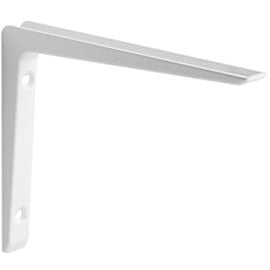 "PURIST Metal Shelf Bracket - 6"" - White"
