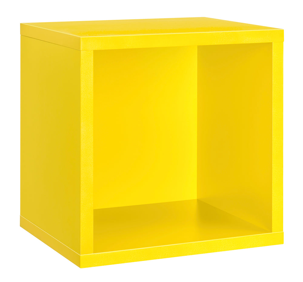 Dolle CLIC Cube Shelf - Yellow - 15 x 15 x 13