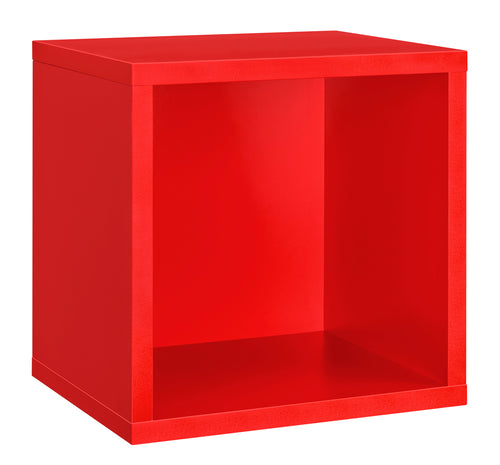 Dolle CLIC Cube Shelf - Red - 15 x 15 x 13