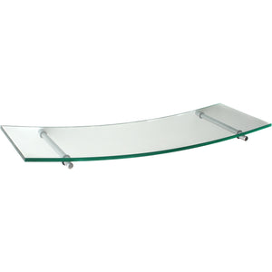 GLASSART Swing Atlas glass shelf set - Clear 24""