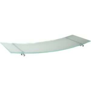 GLASSART Swing/Atlas Frosted Glass Shelf Set - 24""