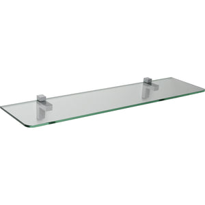 GLASSLINE/Eliot Standard Clear Glass Shelf Set - 32""