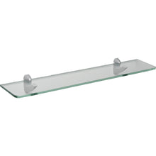 "Load image into Gallery viewer, GLASSLINE/Scoop Standard Clear Glass Shelf Set - 24"" x 5"""