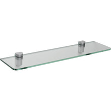 "Load image into Gallery viewer, GLASSLINE/Bin Standard Clear Glass Shelf Set - 24"" x 6"""