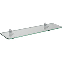 "Load image into Gallery viewer, GLASSLINE/Scoop Standard Clear Glass Shelf Set - 24"" x 6"""
