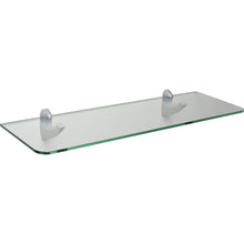 "Load image into Gallery viewer, GLASSLINE/Scoop Maxi Standard Clear Glass Shelf Set - 32"" x 10"""
