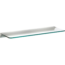"Load image into Gallery viewer, GLASSLINE/Rail Standard Clear Glass Shelf Set - 32"" x 10"""