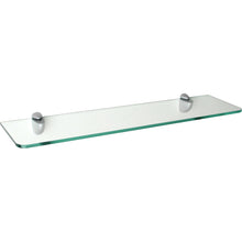 "Load image into Gallery viewer, GLASSLINE/Jam Standard Clear Glass Shelf Set - 24"" x 8"""