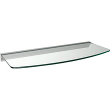 Load image into Gallery viewer, GLASSLINE/Rail Convex Clear Glass Shelf Set - 24""