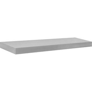 BIG BOY Floating Shelf - Silver - 35.5""