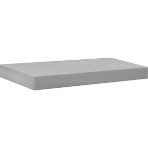 BIG BOY Floating Shelf - Silver - 22.5""