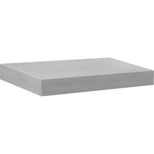 BIG BOY Floating Shelf - Silver - 17.5