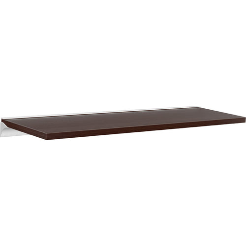 LITE Rail Wall Shelf Set - Espresso - 23.5